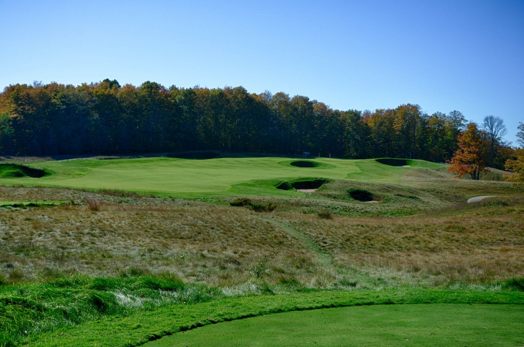 Arcadia Bluffs Golf Club in Michigan is one of the Top 100 Golf Courses in America