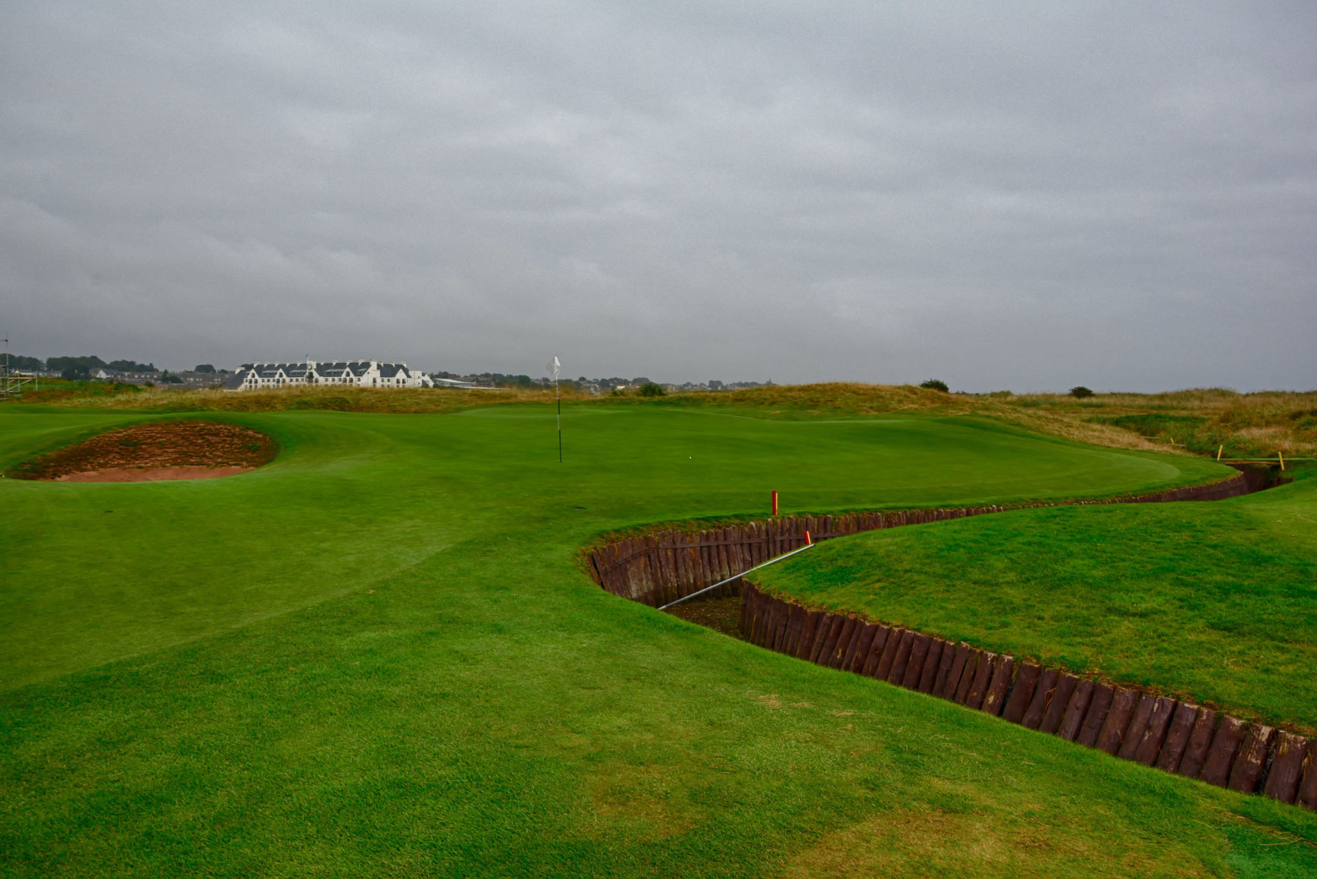 Carnoustie Hole 3 Green