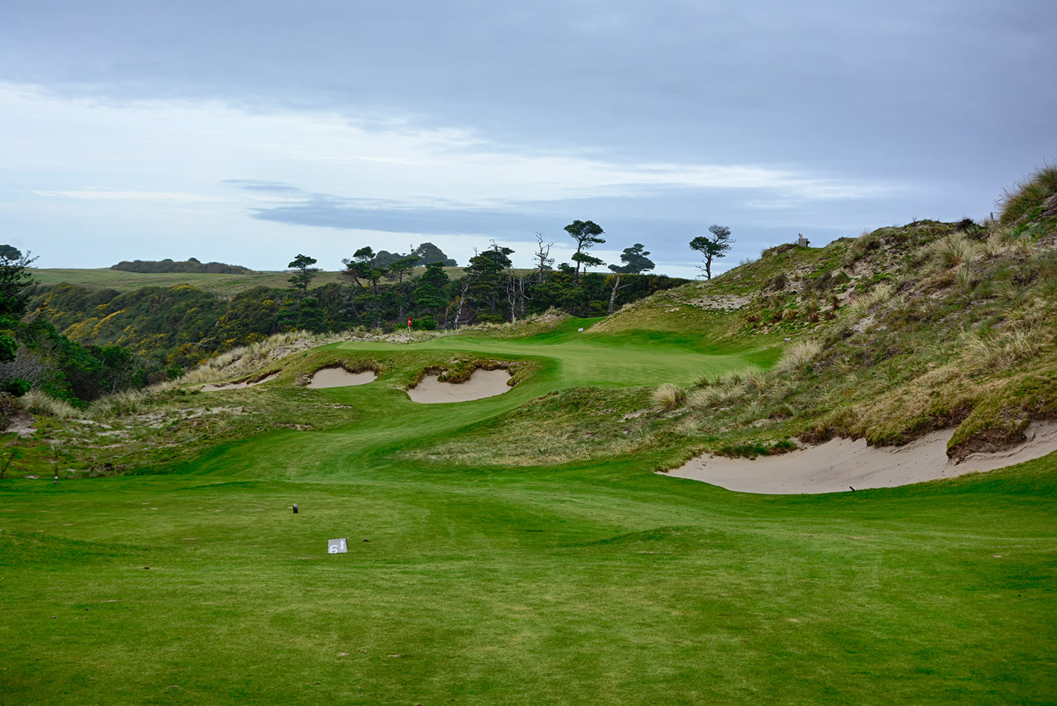 the 6th hole at Bandon Preserve