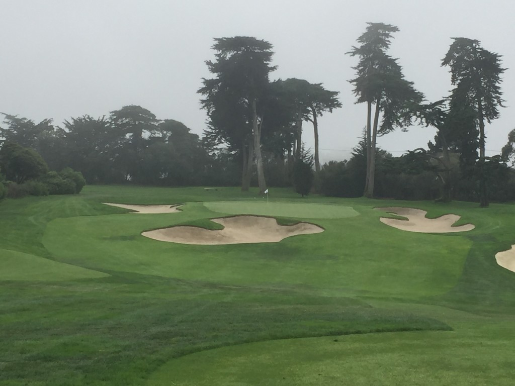 The par 3 11th at San Francisco