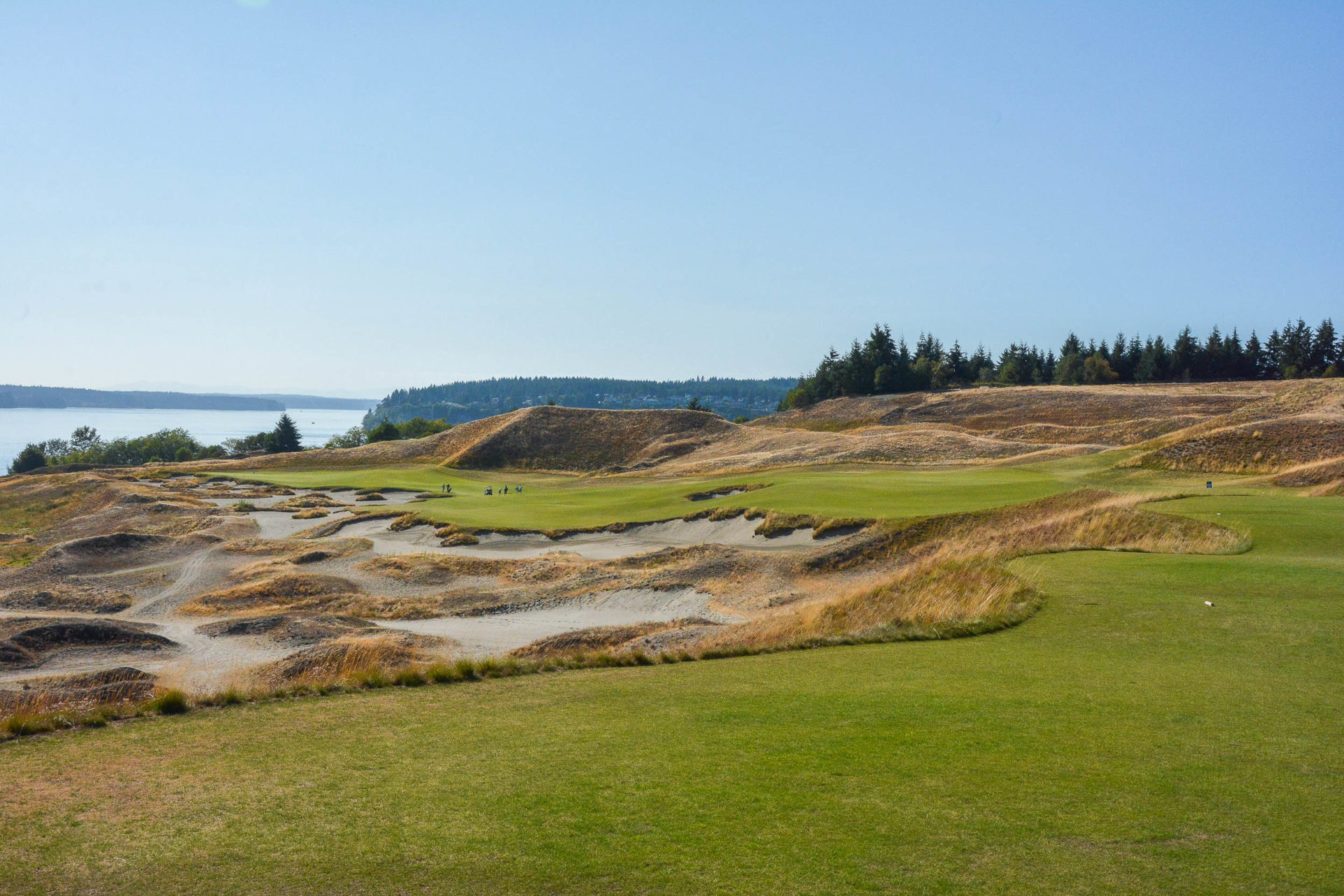 The 14th at Chambers Bay.