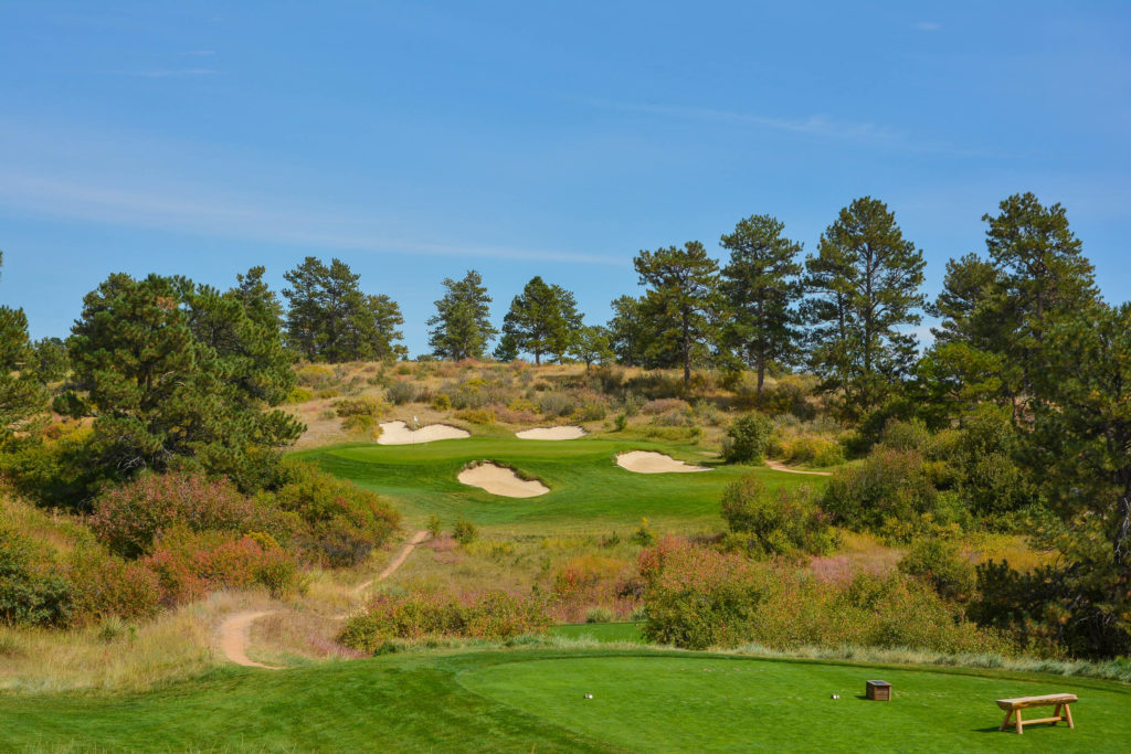 Colorado Golf Club Hole 2